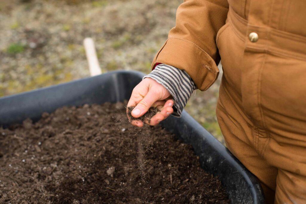 Gartenboden verbessern
